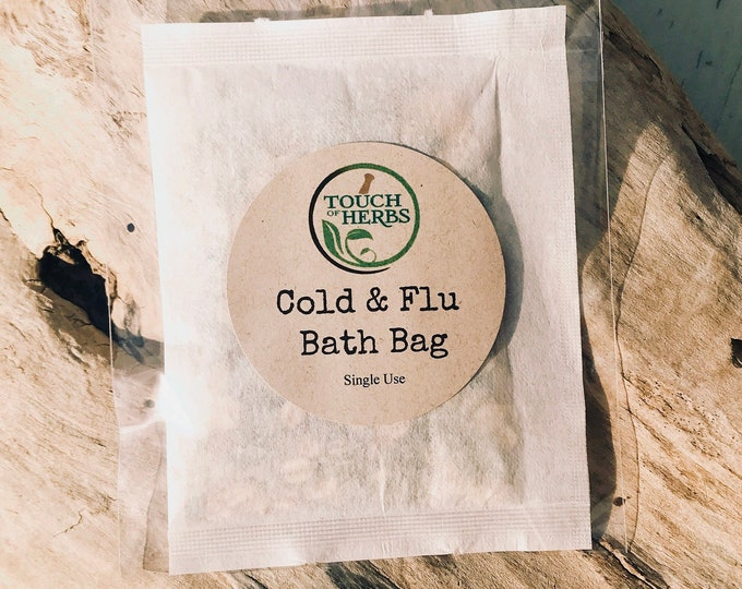 Cold and Flu Bath Bag Soak
