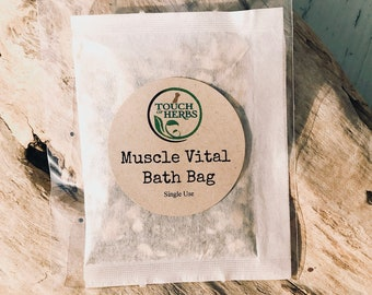 Muscle Vital Bath Bag Soak