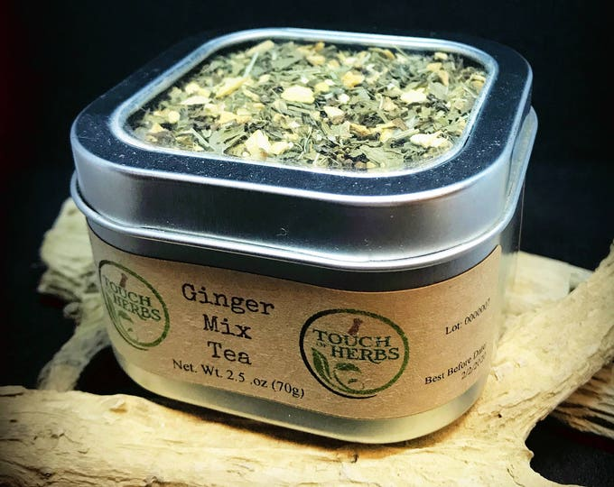 Ginger Mix Tea - Nausea Tea - Remedy Tea