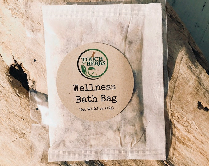 Herbal Wellness Bath Bag