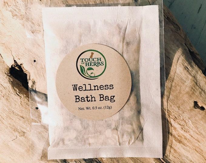 Herbal Wellness Bath Bag