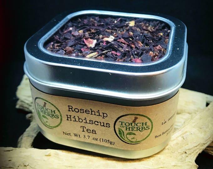 Rosehip Hibiscus Tea Mix - Red Tea - Fruit Tea