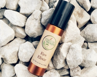 Eye Elixir Roll On - Herbal Oil Blend for Tired and Puffy Eyes