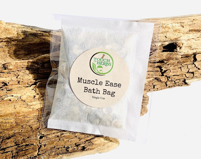 Herbal Muscle Ease Bath Bag