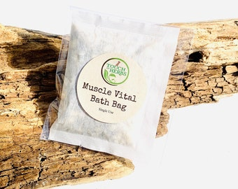 Muscle Vital Bath Bag Soak