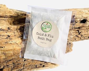 Cold and Flu Bath Bag Soak