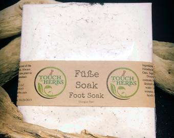 Foot Soak - Wellness Gifts - Herbal Foot Soak - Feet Fetish - Foot Scrub - Spa Gift - Pampering Gifts - Füße Soak - Herbal Soak - Pedicure