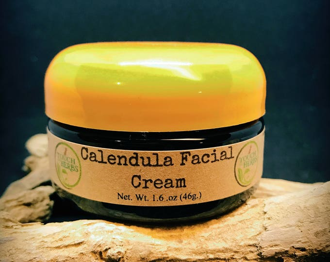 Calendula Facial Cream - Natural Cream for Acne Prone Skin