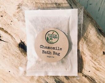 Chamomile Bath Bag - Natural Skin Rash Treatment