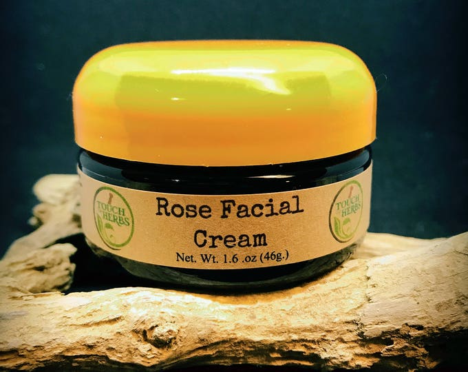 Rose Facial Cream - Natural Skin Care