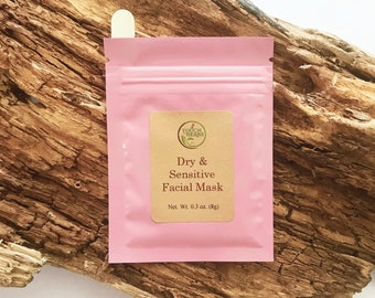 Dry & Sensitive Skin Facial Mask
