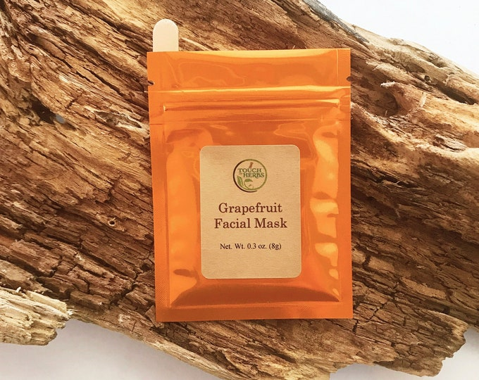 Grapefruit Facial Mask - Vegan Skincare Facial Mask