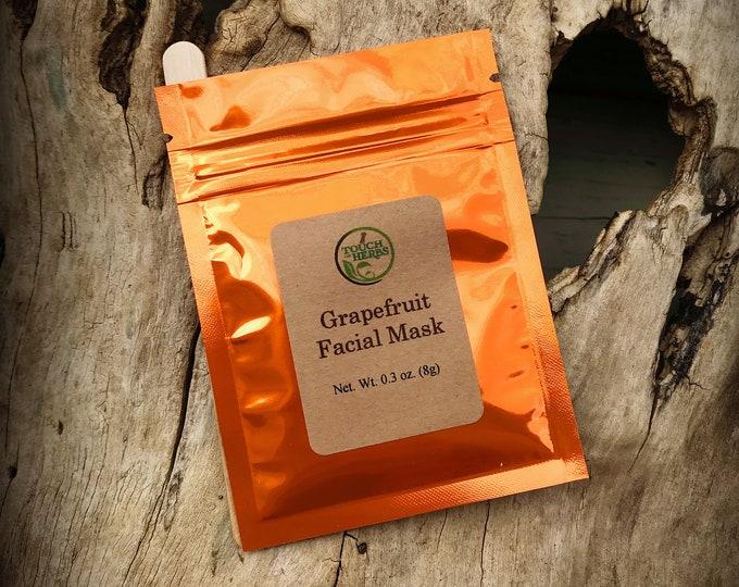 Grapefruit Facial Mask - Vegan Skincare Facial Mask