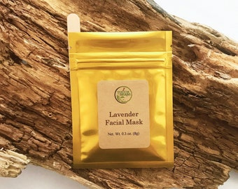 Lavender Facial Mask - Skin Calming Facial Mask