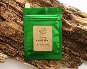 Detox Facial Mask - Pore Purifying Mask