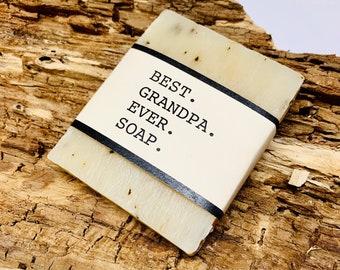 Best Grandpa Ever Gift Soap