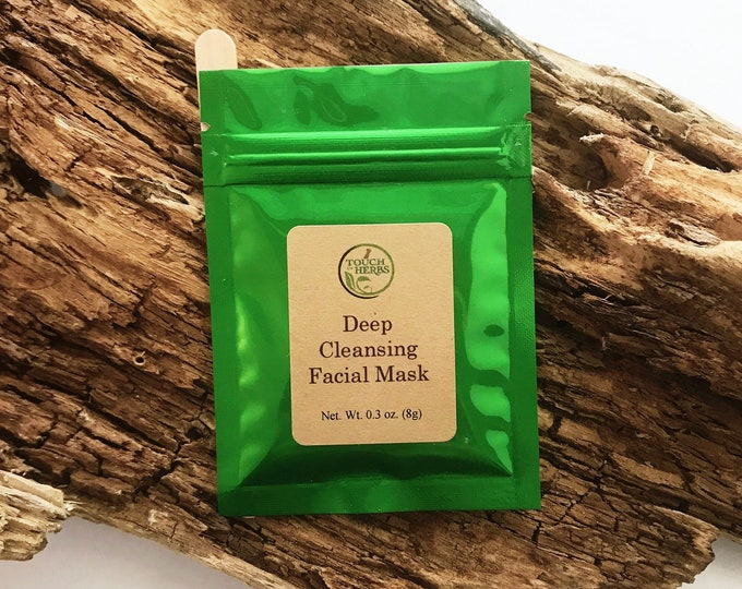 Deep Cleansing Facial Mask - Natural Acne Treatment