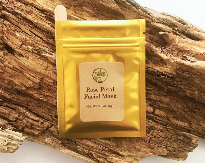 Rose Facial Mask - Botanical Skin Care
