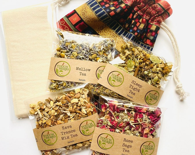 Tea Samples for Sleep and Total Relaxation