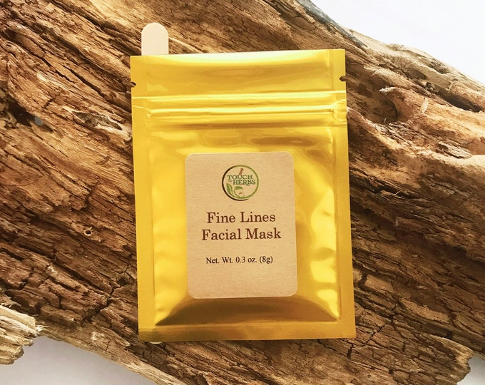 Fine Lines Facial Mask - Mature Skin Care Facial Mask