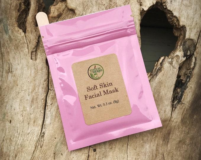 Herbal Soft Skin Facial Mask - Natural Skin Softener