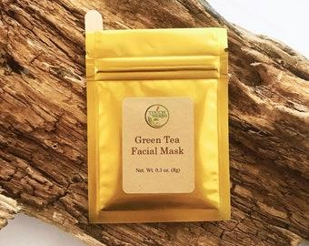 Herbal Green Tea Facial Mask - Vitalizing Facial Mask