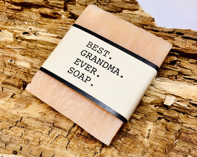 Best Grandma Ever Gift Soap
