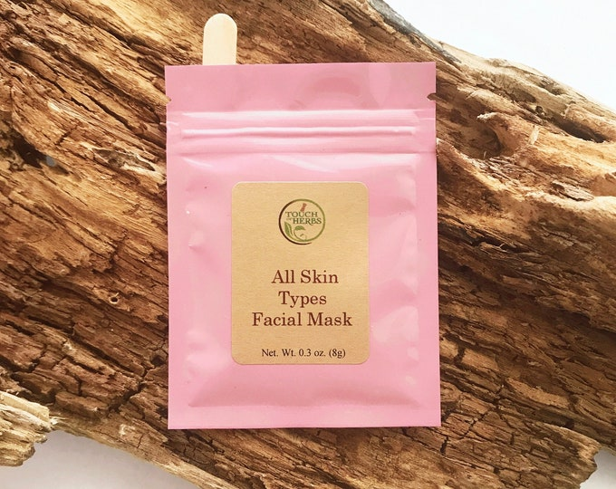 All Skin Types Facial Mask - Organic Facial Mask