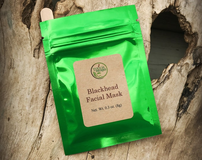 Herbal Blackhead Facial Mask - Clear Skin Facial Mask