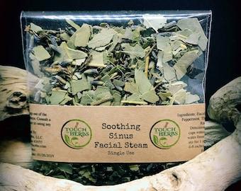 facial steam -  facial steam samples -  Single Use Facial Steam - herbal skin care - facial - small gift - herbal face steam - sinus relief