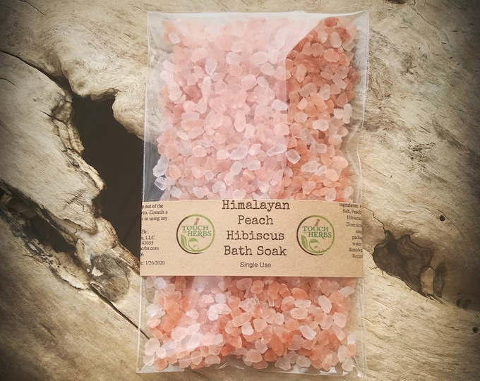 Small Gift Favor - Bath Gifts - Bath salts - Bath and Beauty products - Natural skincare - Himalayan salt - Bath Salts & Scrubs