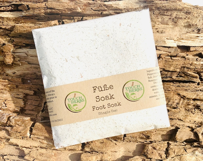 Füße Soak - Natural Foot Soak