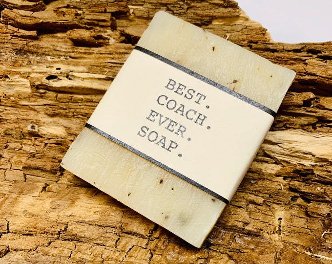 Best Coach Ever Gift Soap