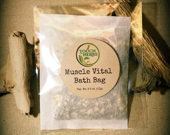 Muscle Vital Bath Bag - Blood Circulation Bath