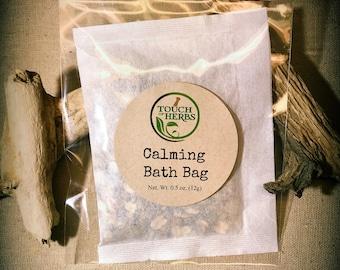Calming Bath Bag - Herbal Bath Tea