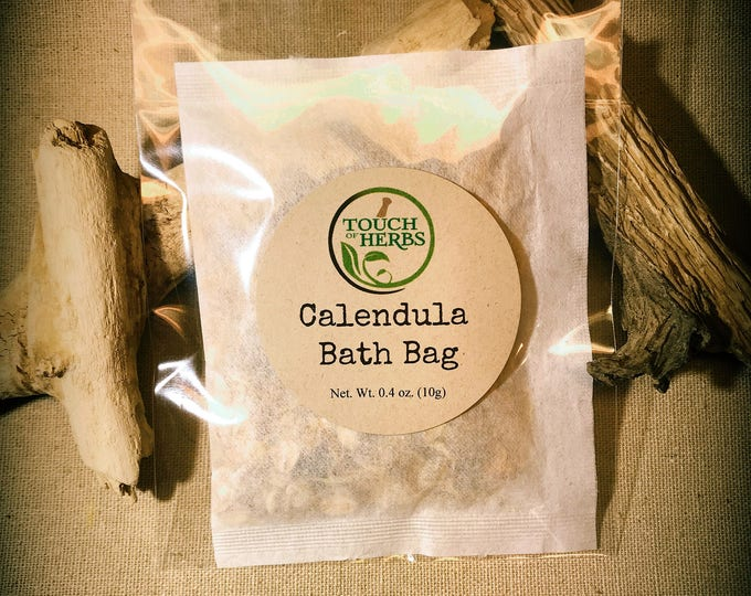 Calendula Bath Bag - Herbal Bath Tea