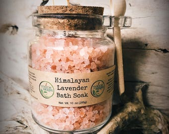 Himalayan Bath Salt Jar - Choose Your Scent