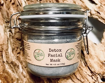 Detox Facial Mask - Detoxifying Facial Mask