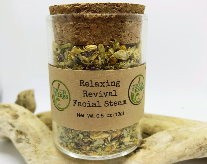 Relaxing Revival Facial Steam - Natural Skin Care Treatment
