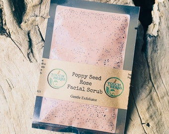 Poppy Seed Rose Facial Scrub