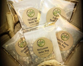 Herbal Bath Tea Variety Set - Secret Santa Gifts