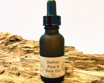 "Herbal Face Oil ""Clear"""