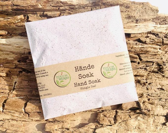 Herbal Hand Soak