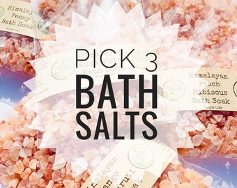 Pick 3 Bath Salt Set