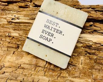 Best Waiter Ever Gift Soap