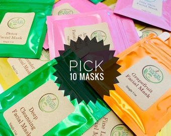 Pick Your 10 Favorite Face Masks