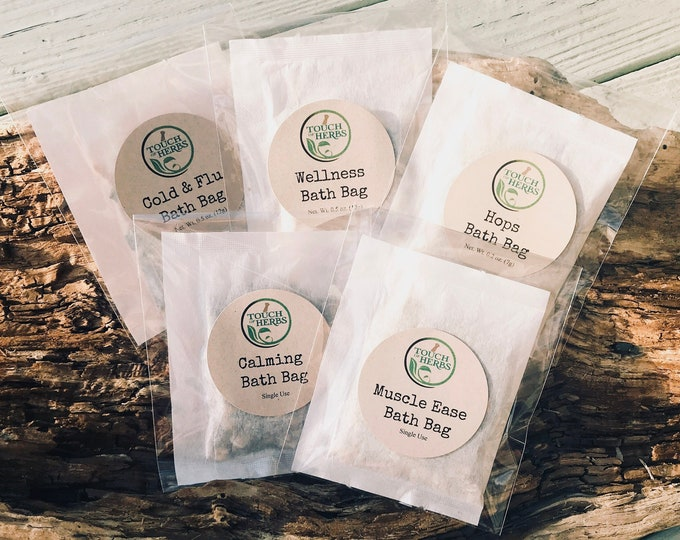 Herbal Bath Tea Variety Set