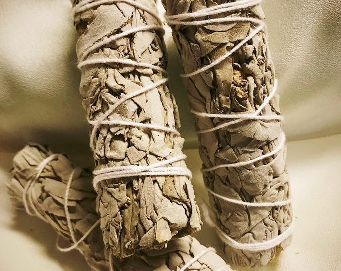1 Sage Smudge Stick - 4 Inches