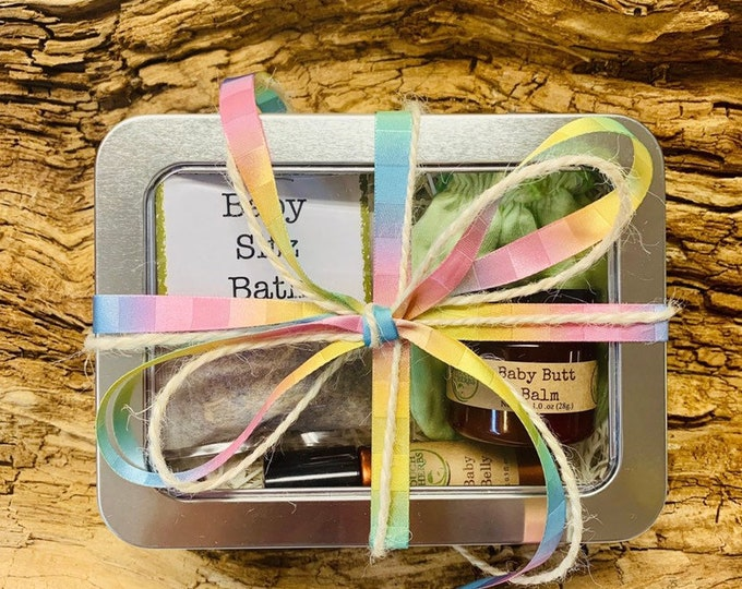 Gender Neutral Baby Gift Box