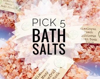 Pick 5 Bath Salt Set